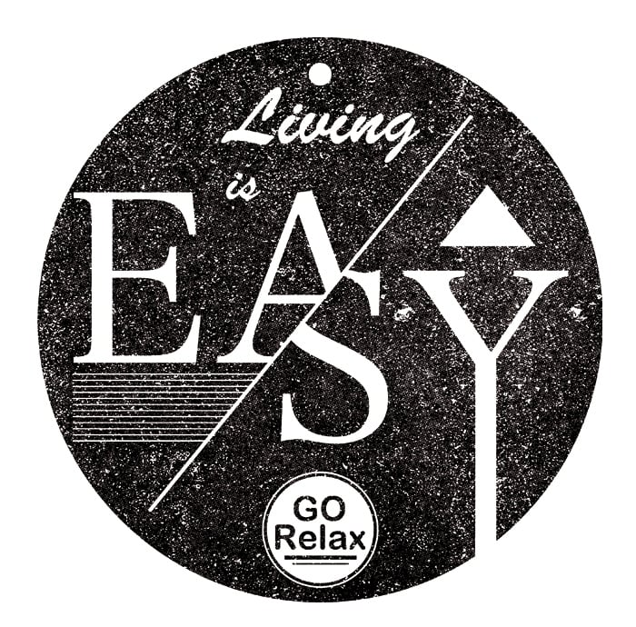 Living is easy