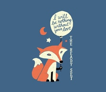 Fox with Loveballoon