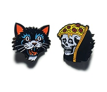 Pins Cat & Pizza Reaper