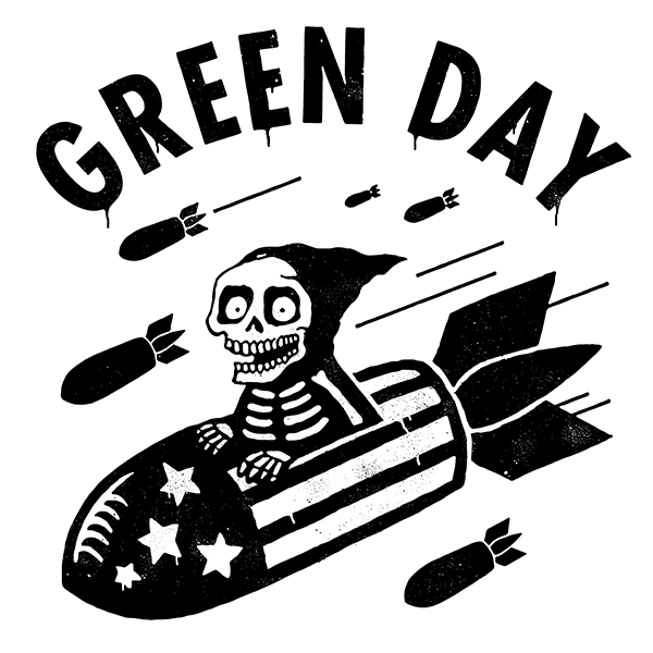 GREEN DAY – SCARY BOMBS