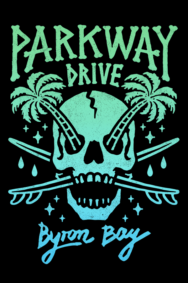 PARKWAY DRIVE – SUMMER SKULL