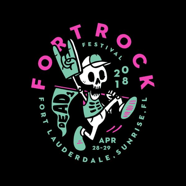 FORT ROCK FESTIVAL – DEAD MASCOT