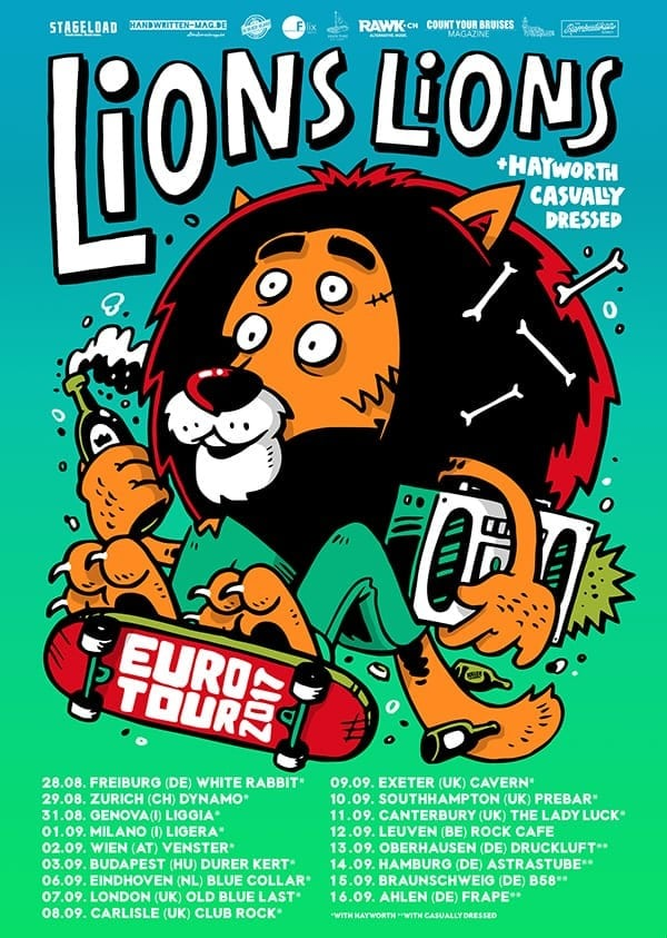 LIONS LIONS – EUROTOUR 2017