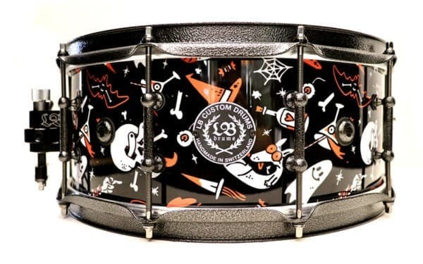 LB DRUMS – HALLOWEEN SNARE