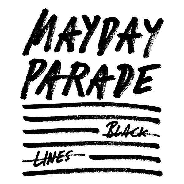 MAYDAY PARADE – BLACK LINES