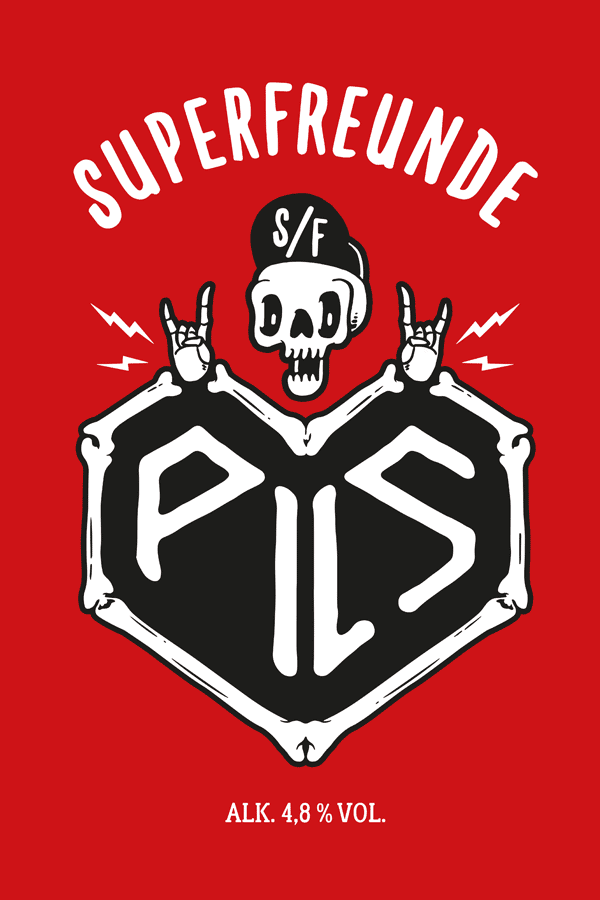 SUPERFREUNDE – PILS