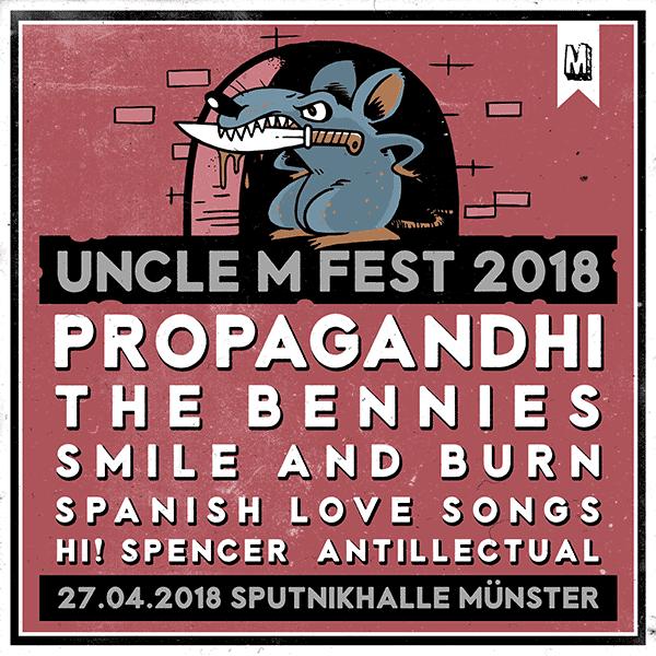 UNCLE M FEST 2018 – POSTER