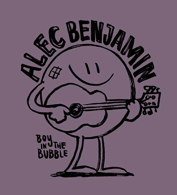ALEC BENJAMIN – BUBBLE BOY