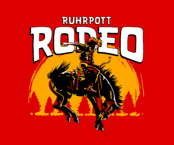 RUHRPOTT RODEO – LOGO