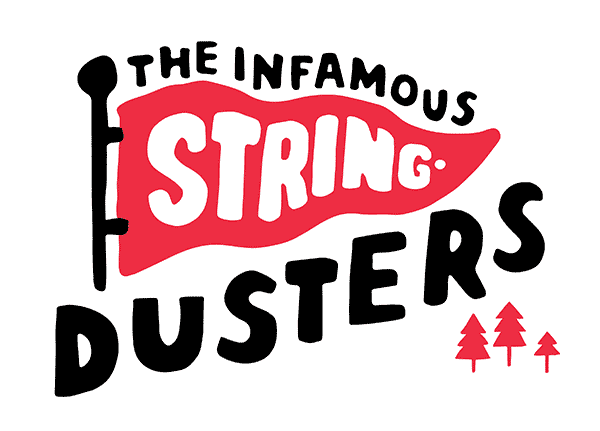 THE INFAMOUS STRINGDUSTERS – FLAG