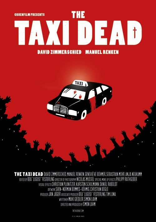 THE TAXI DEAD – FILMPOSTER